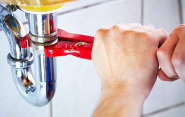 pappagallo impianto idraulico, tubo lavandino